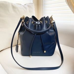 Tuscany Leather Drawstring Crossbody bag leather